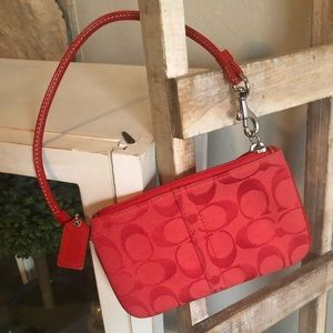 Coach wristlet or coin purse never used